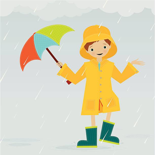 rainy tag - kinderstiefel stock-grafiken, -clipart, -cartoons und -symbole