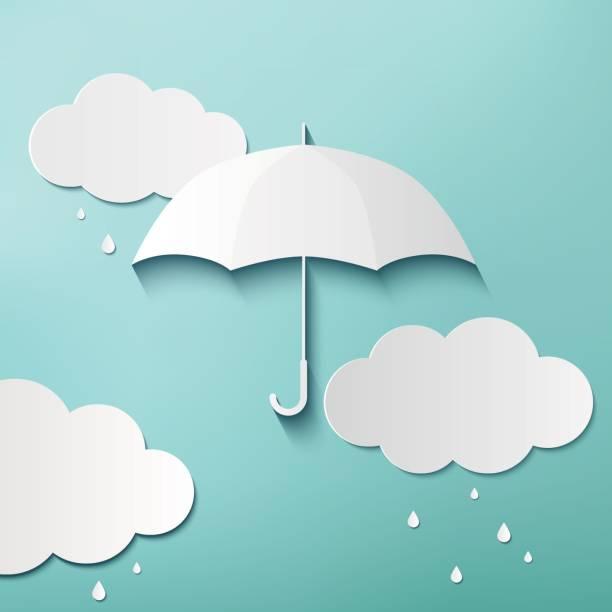 Rainy Tag – Vektorgrafik