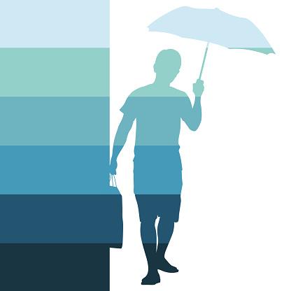 Rainy Days Pedestrian