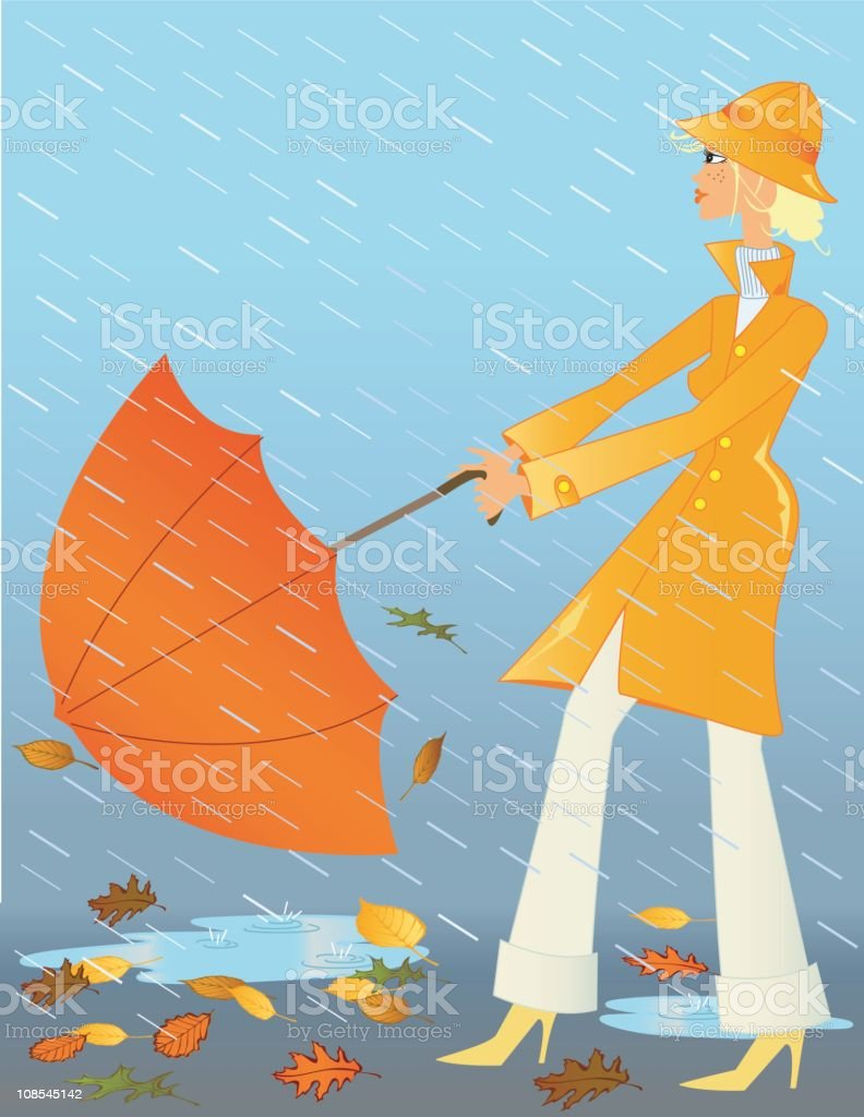 royalty free rain hat clip art vector images