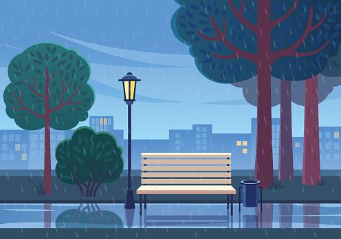 Rain stock illustrations