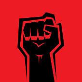 istock Raised Fist 1256184664