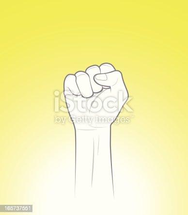 istock Raised Fist 165737551