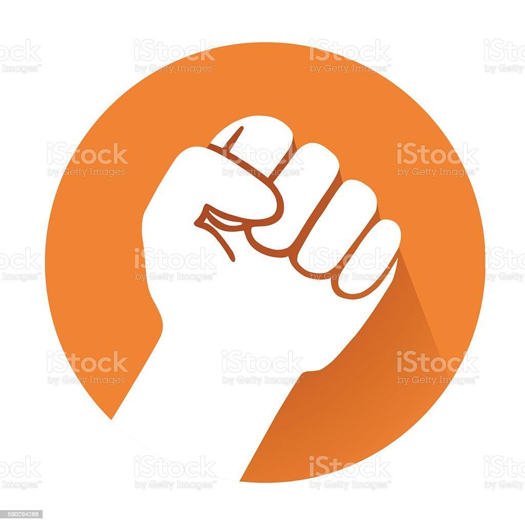 raised fist royaltyfri raised fist-vektorgrafik och fler bilder på del av
