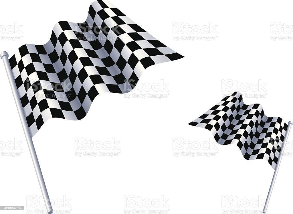 Rally Car Racing vector art illustration