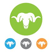 Ram head icon