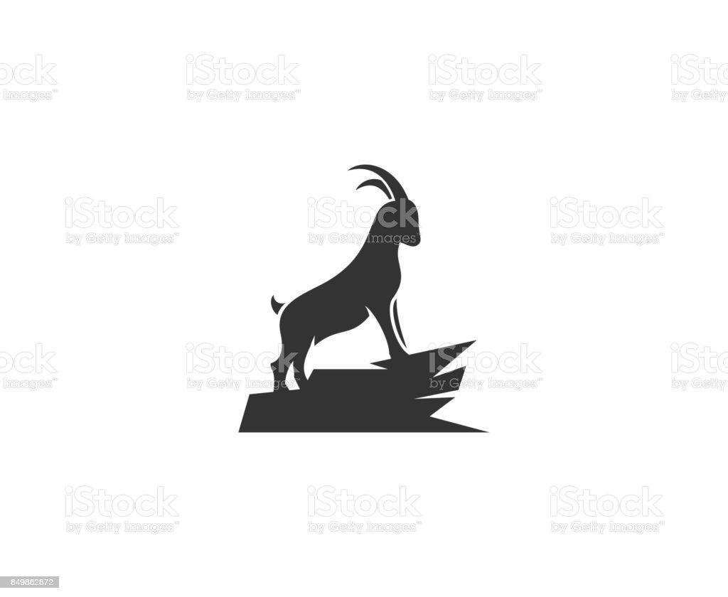 Ram icon – artystyczna grafika wektorowa