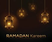 Ramadan Kareem background. EPS 10 file. Transparency effects used on highlight elements.