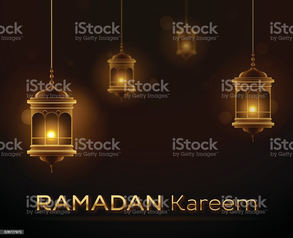 Ramadam Kareem vector art illustration