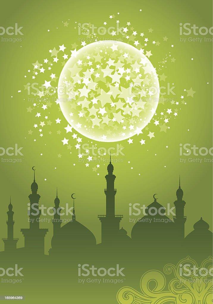 Ramadan Background vector art illustration