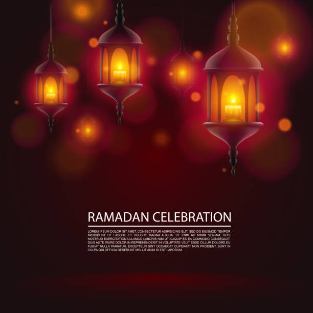 Ramadan celebration art vector art illustration