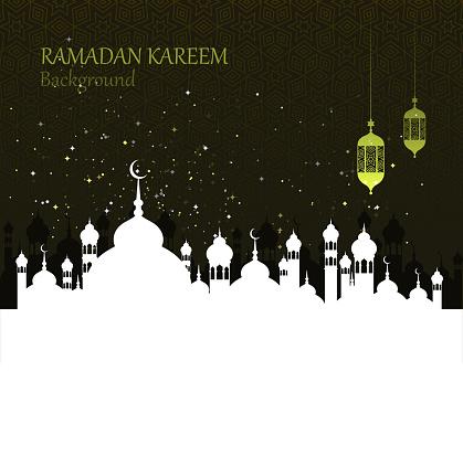 齋月慶祝活動向量圖形及更多Ramadan Kareem圖片