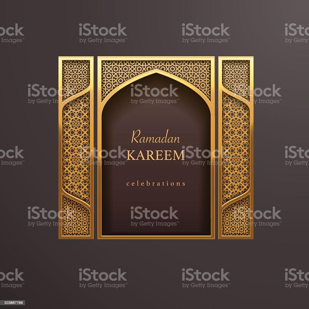 Ramadan-design-Hintergrund – Vektorgrafik