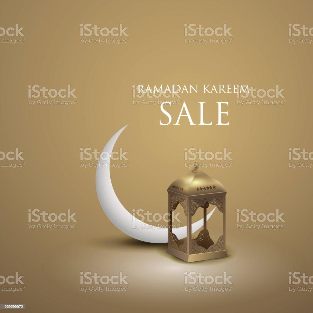 Fondo gráfico de Ramadán - ilustración de arte vectorial