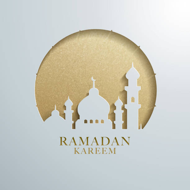 Ramadan graphic design Ramadan graphic design. Suitable for webpage greetings, poster design project. ramadan stock illustrations