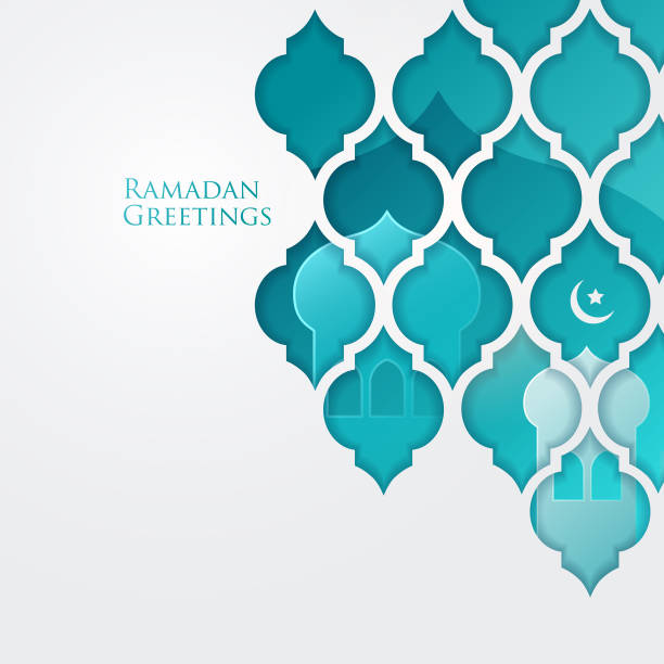 Ramadan greetings design Ramadan graphic design. Suitable for webpage greetings, poster design project. ramadan stock illustrations