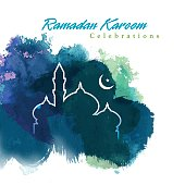 Ramadan greetings design. come with layer.