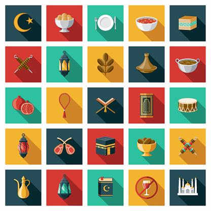 Ramadan Icon Set
