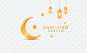 Ramadan kareem background with ornament and luxury concept