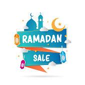 RAmadan Kareem creative shape for market and more