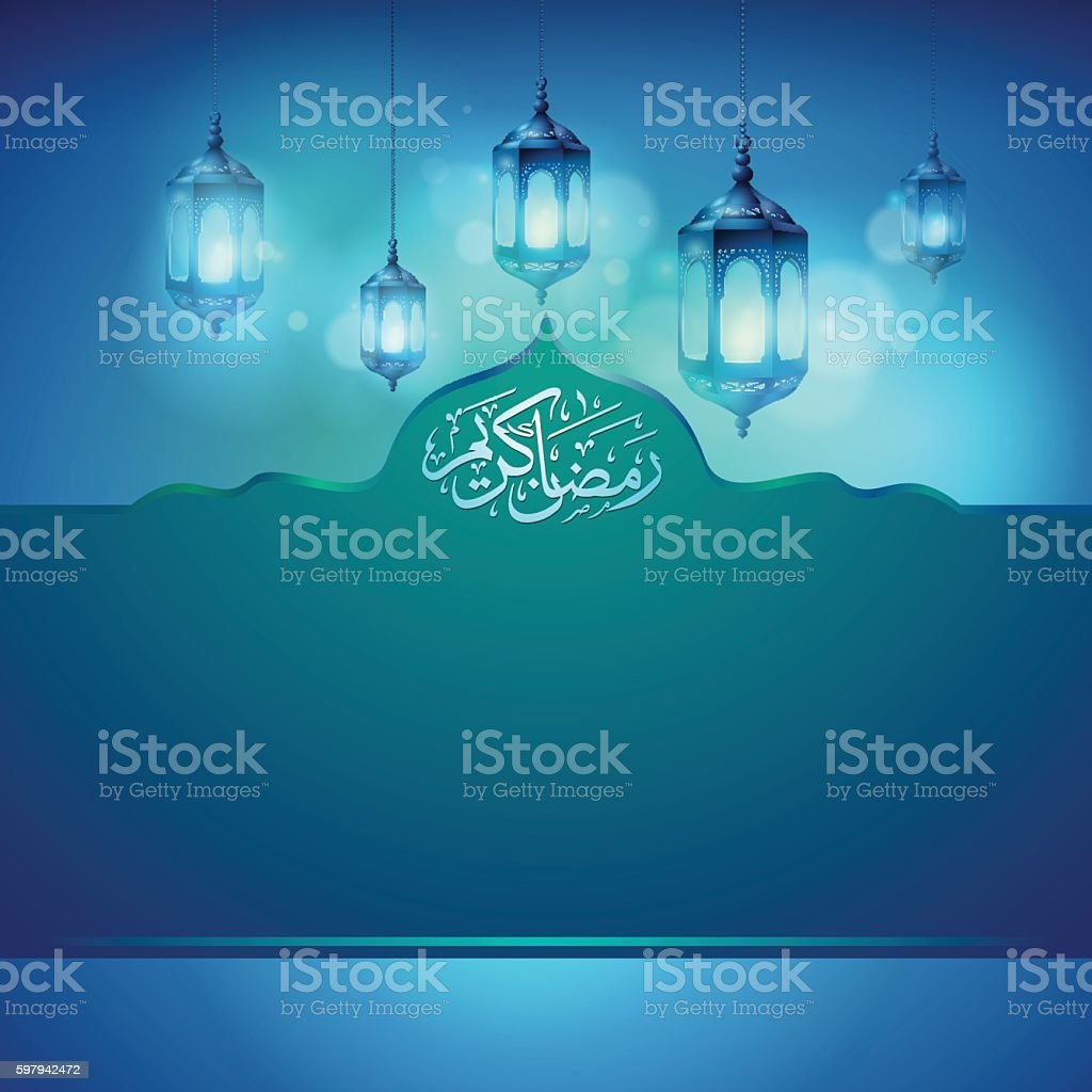 Ramadan Kareem greeting card template islamic background design ilustração de ramadan kareem greeting card template islamic background design e mais banco de imagens de arábia royalty-free