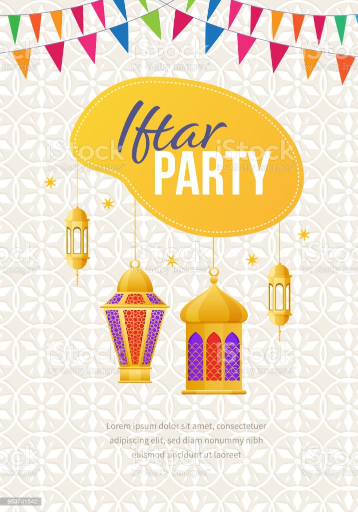 Simple Iftar Eid Al-Fitr Decorations - ramadan-kareem-greeting-card-with-picture-festive-lights-iftar-party-vector-id953741542  Perfect Image Reference_344723 .com/vectors/ramadan-kareem-greeting-card-with-picture-festive-lights-iftar-party-vector-id953741542