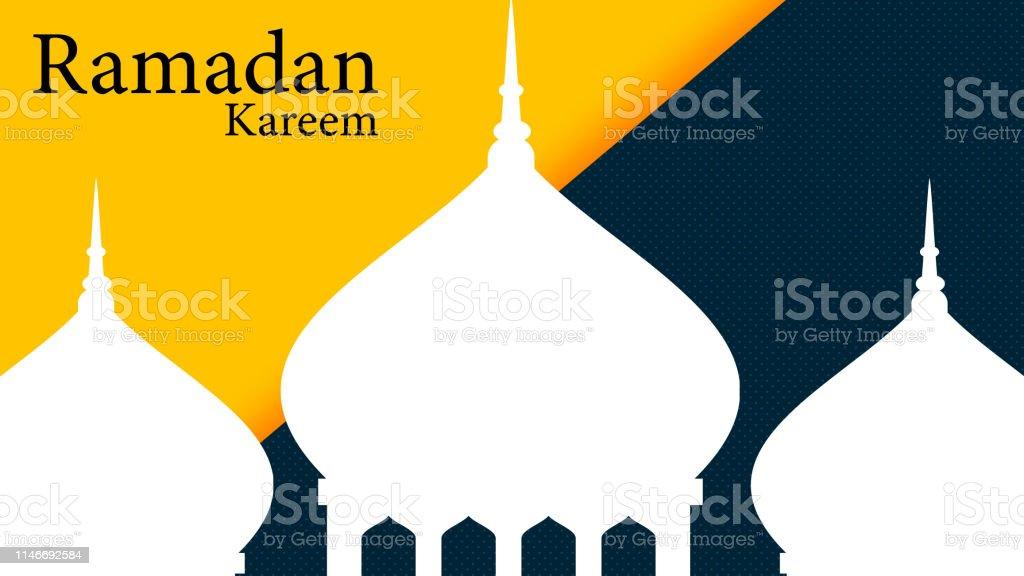 Ramadan Kareem Greetings for Ramadan background