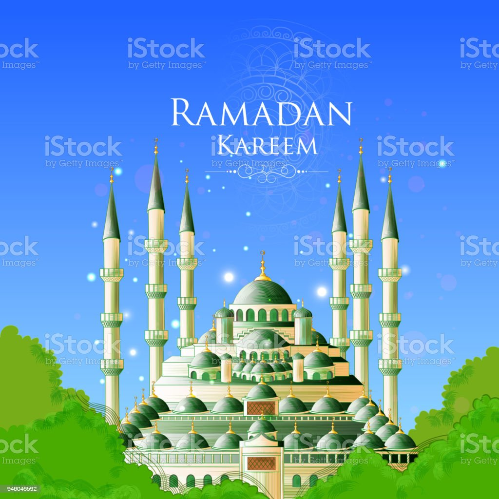 Ramadan kareem greetings for ramadan background with islamic mosque ramadan kareem greetings for ramadan background with islamic mosque royalty free ramadan kareem greetings for m4hsunfo