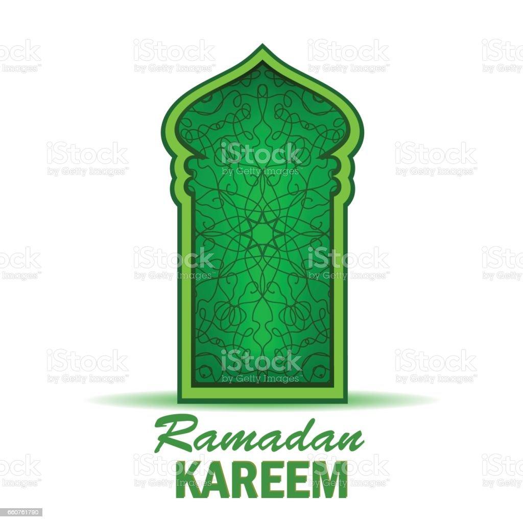 Ramadan Kareem Holiday vector art illustration
