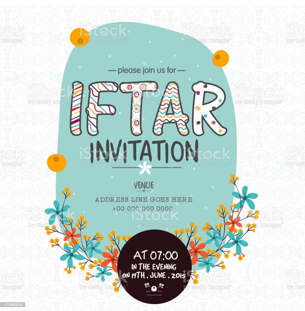 Ramadan kareem iftar party celebration invitation card design stock ramadan kareem iftar party celebration invitation card design royalty free ramadan kareem iftar party stopboris Image collections