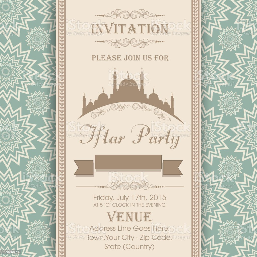 Ramadan kareem iftar party invitation stock vector art more images ramadan kareem iftar party invitation royalty free ramadan kareem iftar party invitation stock vector art stopboris Image collections