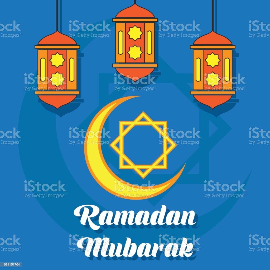 Ramadan kareem / mubarak groet ontwerp, vectorillustratie royalty free ramadan kareem mubarak groet ontwerp vectorillustratie stockvectorkunst en meer beelden van allah