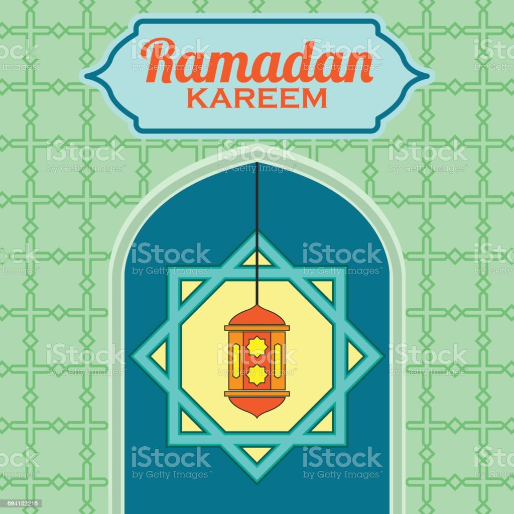 ramadan kareem / mubarak greeting design, vector illustration ramadan kareem mubarak greeting design vector illustration - immagini vettoriali stock e altre immagini di allah royalty-free