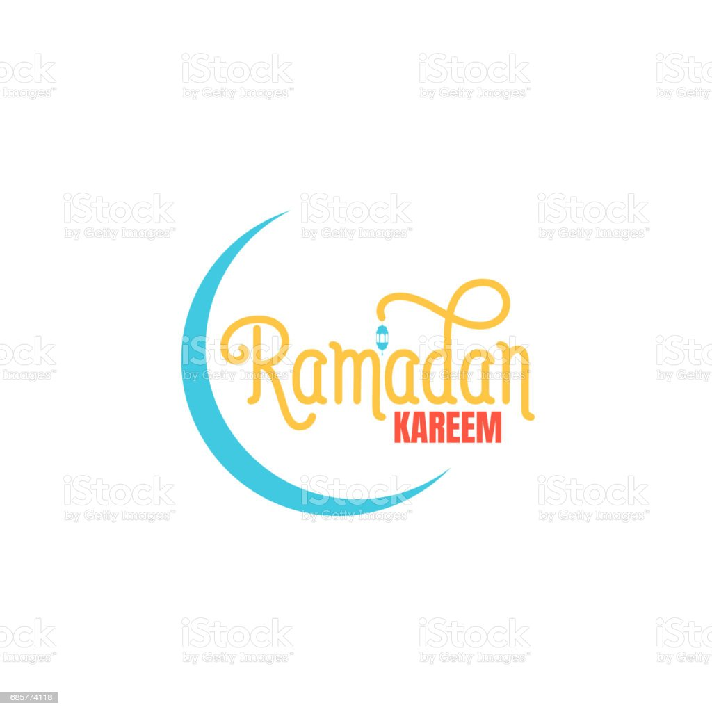 Ramadan Kareem. Ramadan typographic icon. Design layout for Islamic holidays royalty-free ramadan kareem ramadan typographic icon design layout for islamic holidays stock vector art & more images of abstract