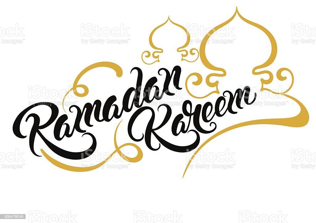 ramadan kareem text vector stock vector art amp more images