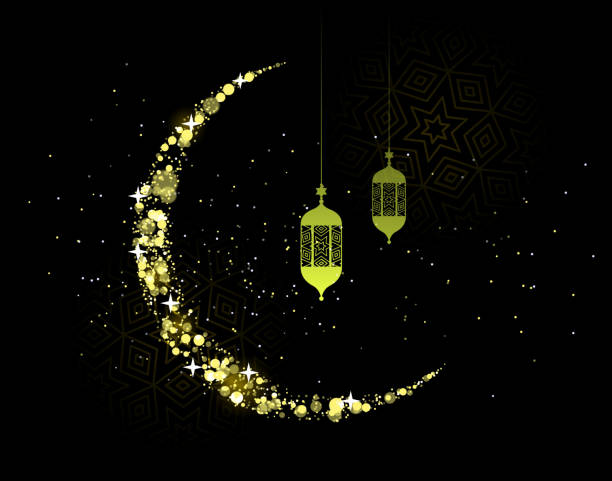 stockillustraties, clipart, cartoons en iconen met ramadan kareem - suikerfeest