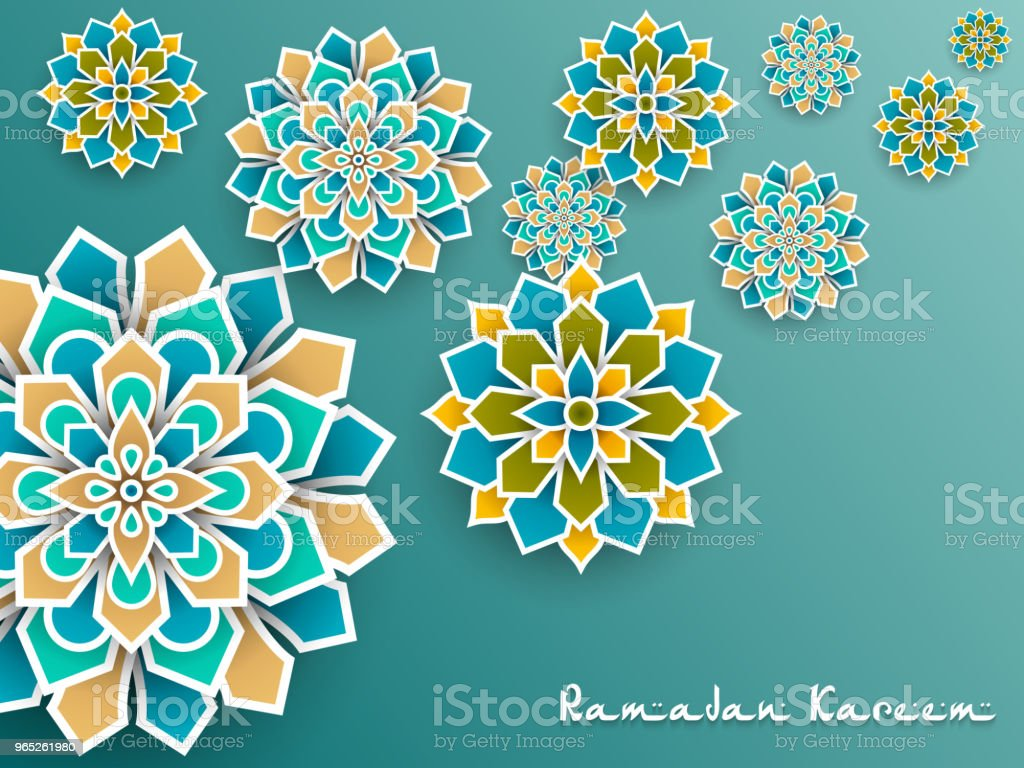 Ramadan Kareem with paper graphic of islamic decoration ramadan kareem with paper graphic of islamic decoration - stockowe grafiki wektorowe i więcej obrazów bez ludzi royalty-free