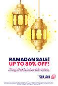Ramadan Lantern ad design