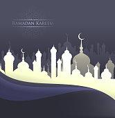 ramadan kareem eid festival design