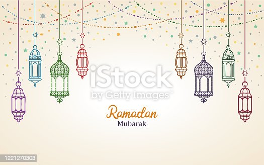 istock Ramadan Mubarak 1221270303