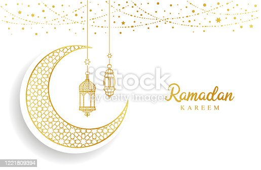 istock Ramadan Mubarak 1221809394