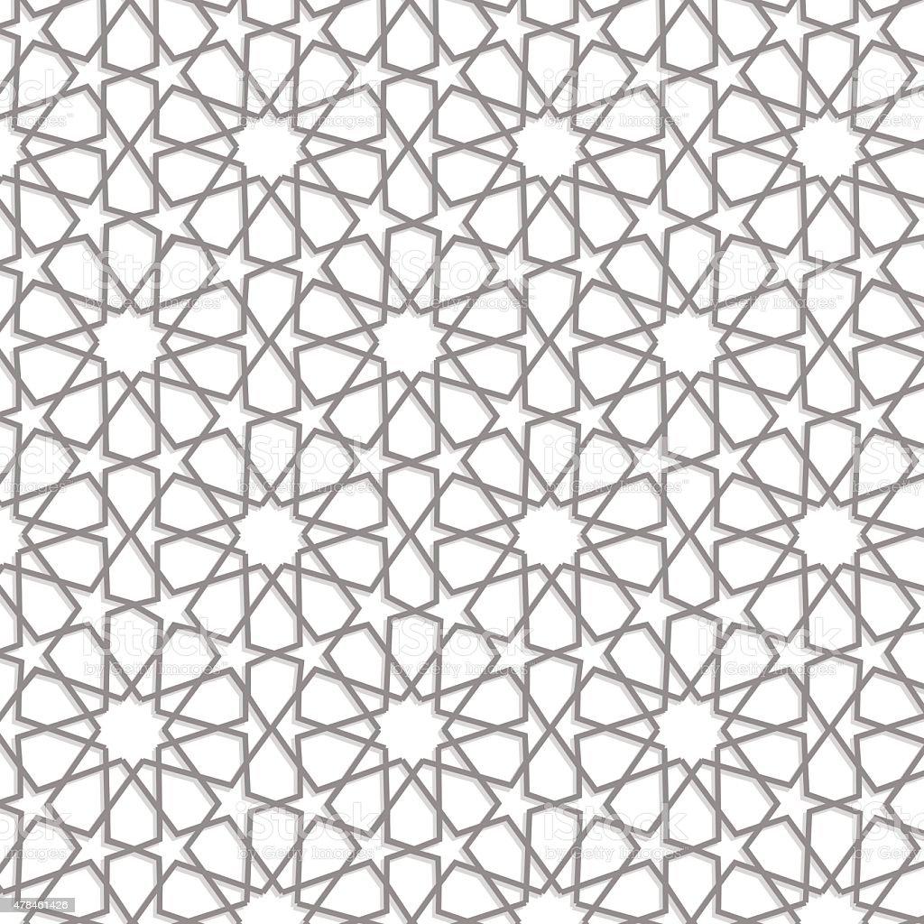 Ramadan pattern vector art illustration