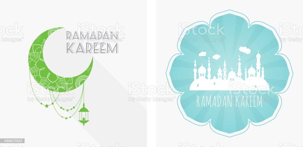 Ramadanset Ramadan Arabisch Ramadan Grüße Ramadan Traditionelle ...