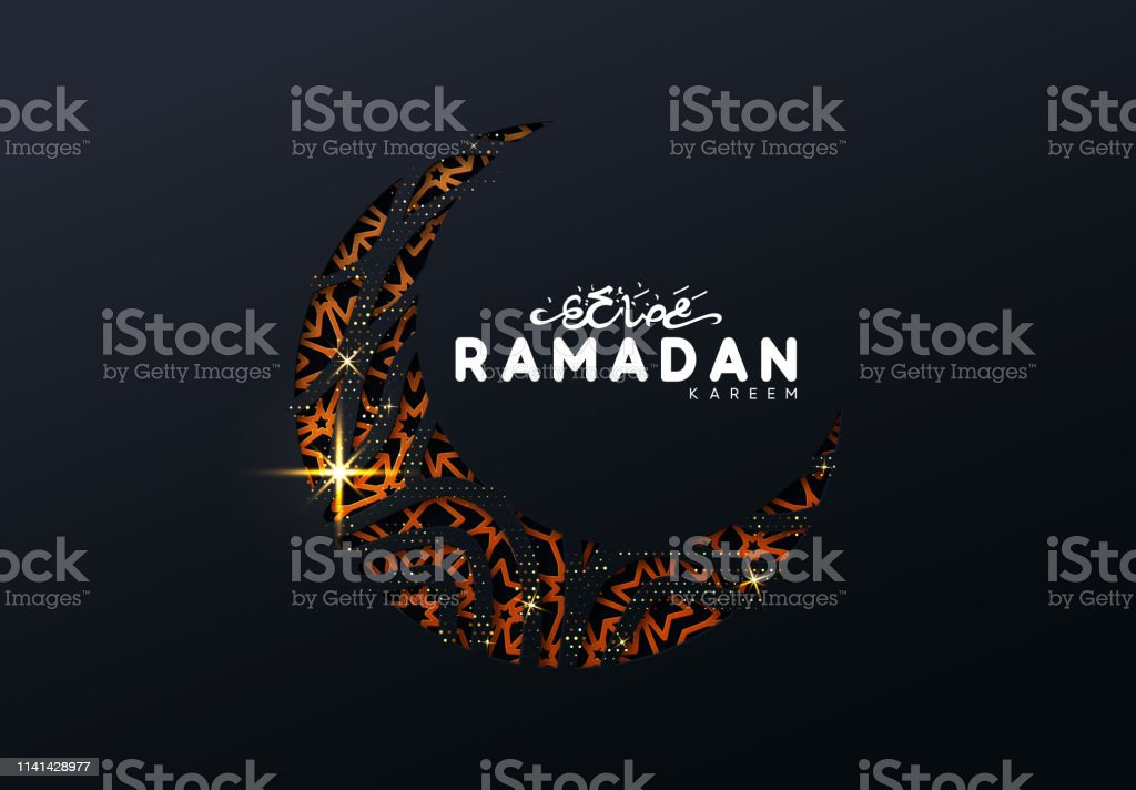 Ramadan vector background. vector art illustration