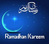 Ramadhan Kareem greeting cards
