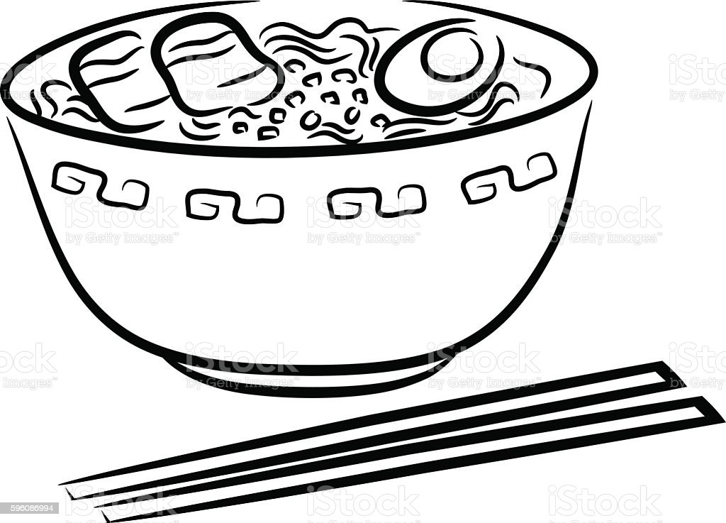 Ramen Noodle royalty-free ramen noodle stock vector art & more images of art
