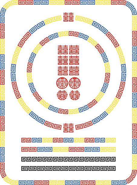 ラーメン模様。 サンダーます。 幸運なパターン - ラーメン点のイラスト素材/クリップアート素材/マンガ素材/アイコン素材