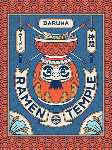 Ramen temple Daruma