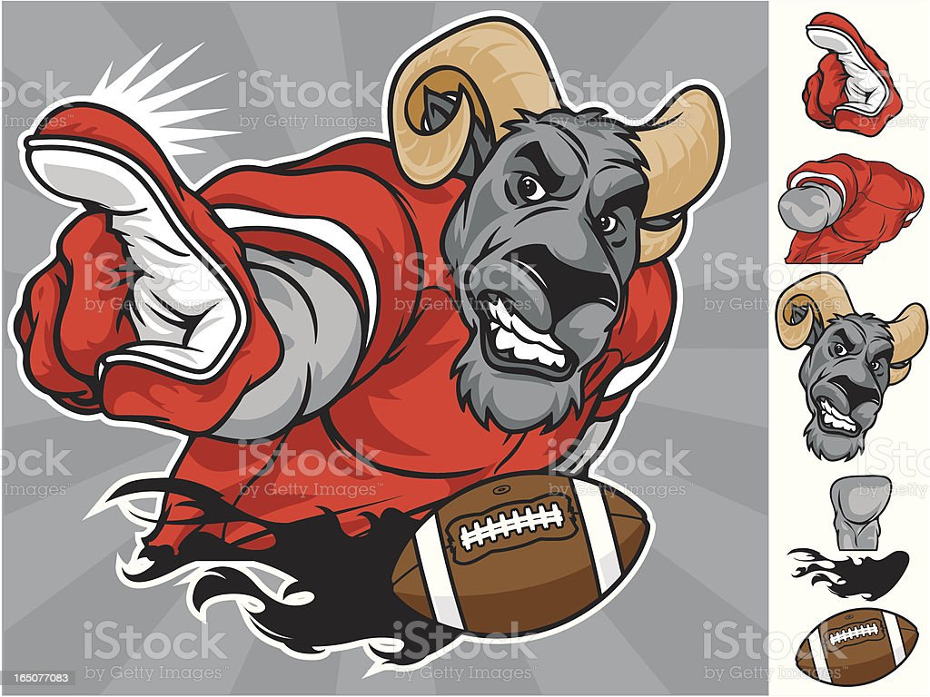 Rams Numer One royalty-free rams numer one stock vector art & more images of acute angle