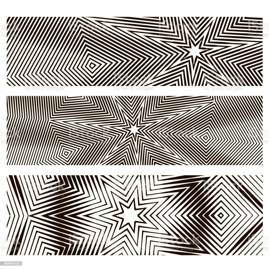 Motif étoiles Aléatoires Illustration De La Couverture